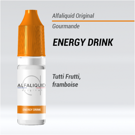 Energy Drink d'Alfaliquid