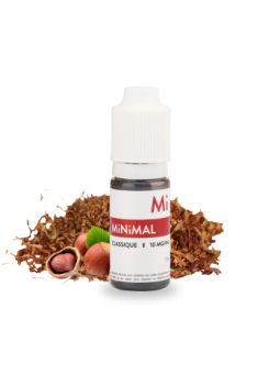 MiNiMAL - Classique, sels de nicotine