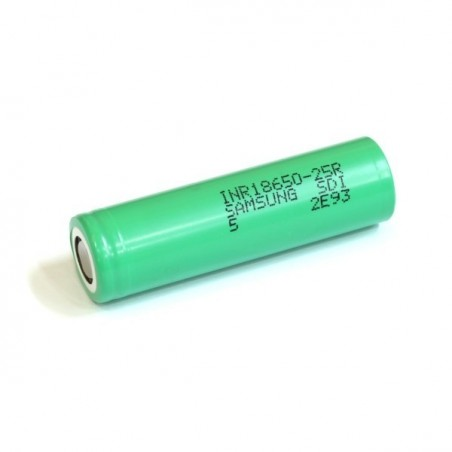 Accu Samsung 25R INR 18650 2500 mAh