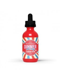 Strawberry Custard 50ml - Dinner Lady