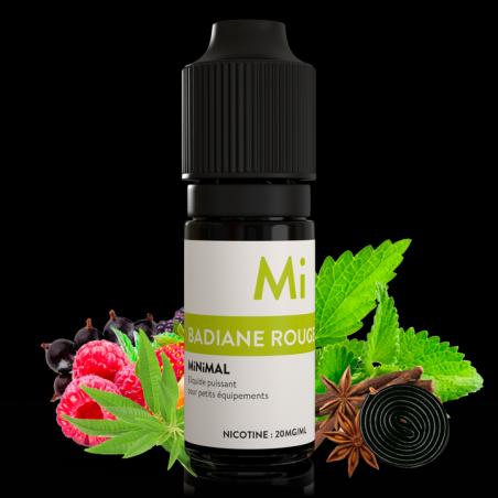 MiNiMAL - Badiane Rouge, sels de nicotine