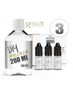 Pack Start DIY base 200ml de Révolute