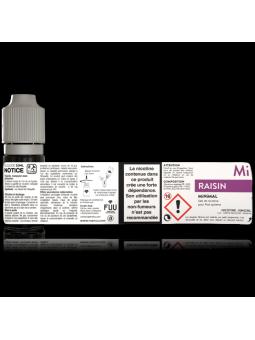 MiNiMAL - Raisin, sels de nicotine