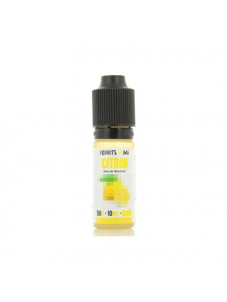 MiNiMAL - Citron, sels de nicotine