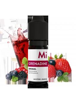 MiNiMAL - Grenadine, sels de nicotine