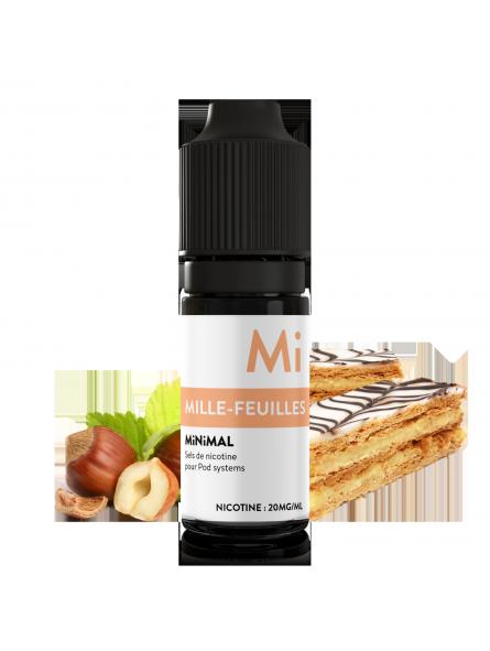 MiNiMAL - Mille Feuilles, sels de nicotine