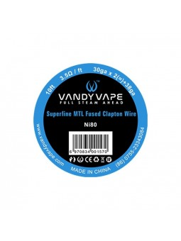 Superfine MTL Wire Vandy Vape Ni80