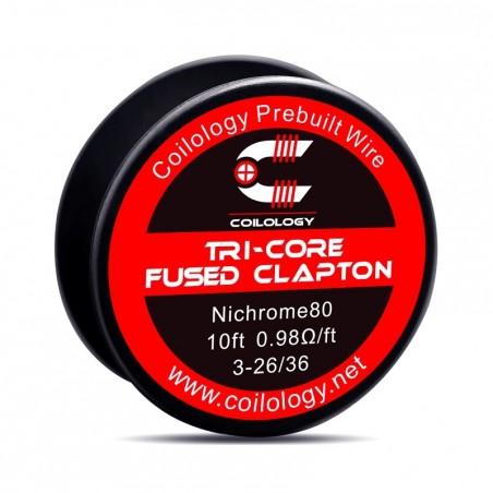 Tri Core Fused Clapton Coilology