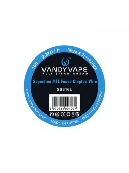Superfine MTL Wire Vandy Vape SS316L