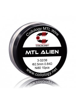 Pack 10 MTL Alien Coilologie 0.84 ohm