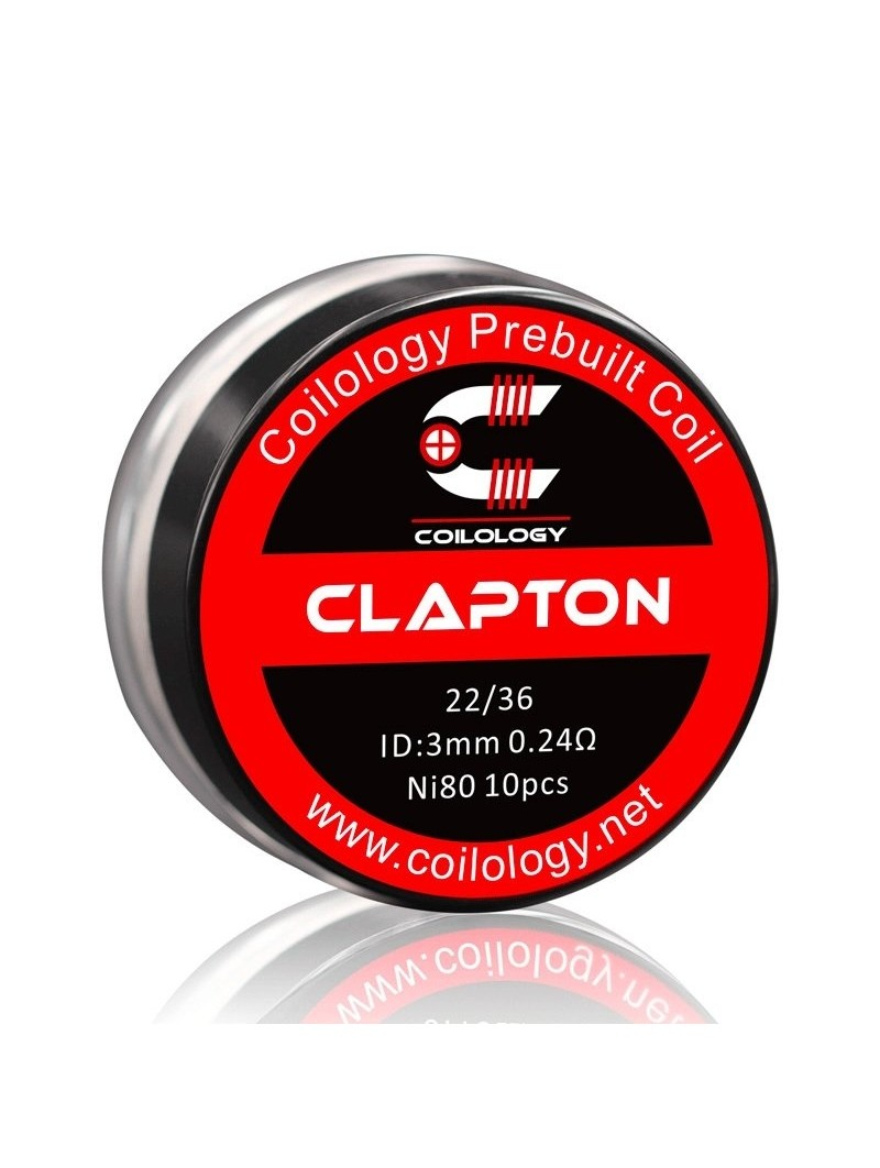 Pack 10 Clapton Coilology