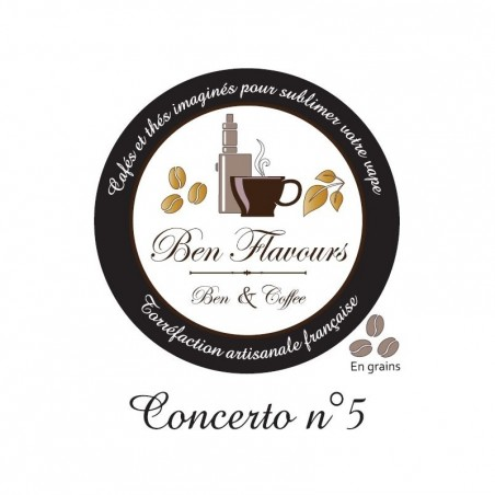 Café Concerto n°5 de Ben Flavours